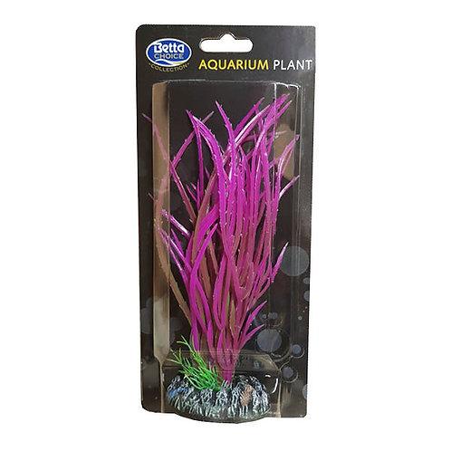 Betta Choice Plastic 20cm Pink Plant