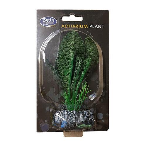 Betta Choice 13cm Silk Green Lace Plant