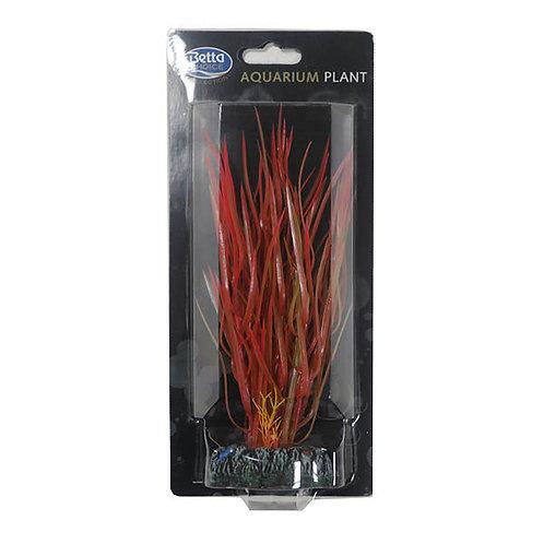 Betta Choice Plastic 20cm Red / Green Plant
