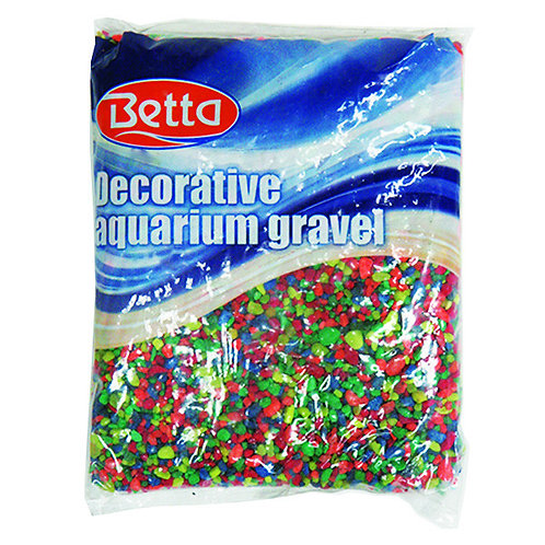 Betta Aquarium Gravel Neon Rainbow 2.27kg
