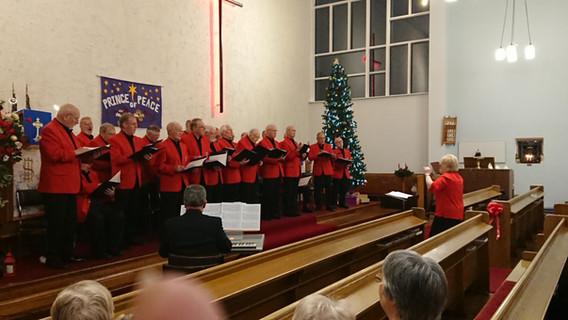 Visit from Bearsden Male Voice Choir