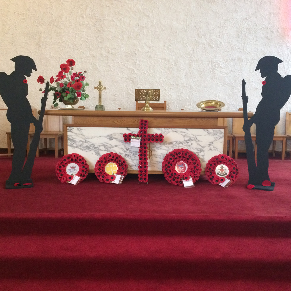 Special Display for the 100th Anniversary, 1918-2018.
