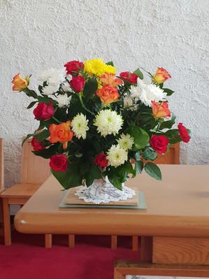 We use Fairtrade flowers