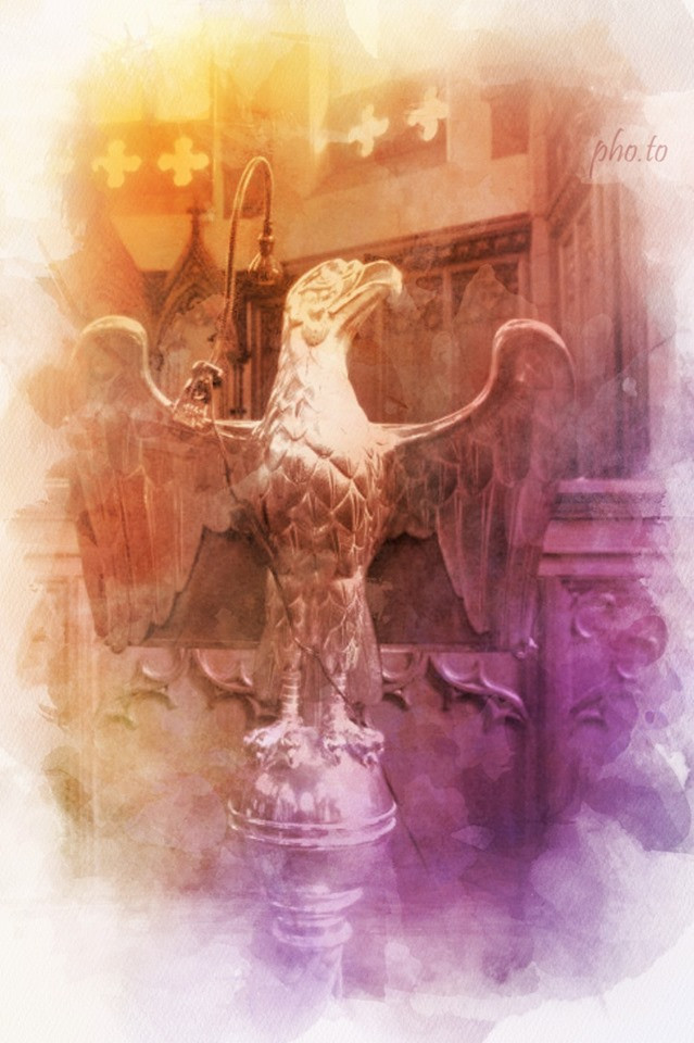 Eagle Lectern, St Columba Gaelic Church