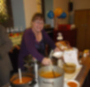 Kath Harvest meal.jpg