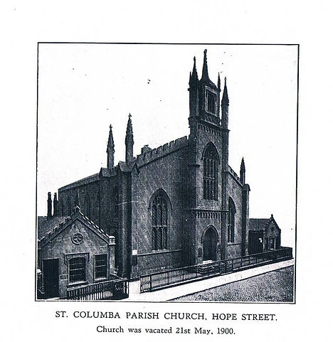 St Columba Church Hope Street