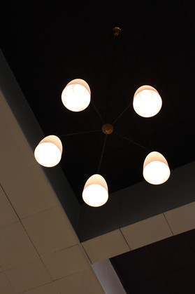LED bulbs in church