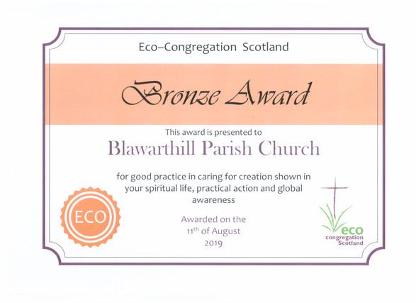 Eco Bronze Certificate