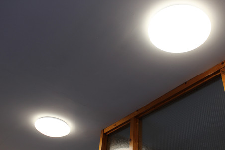 LED fittings in passageways