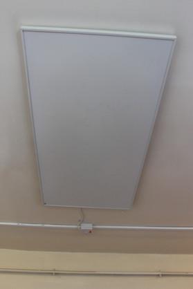 Low energy panel heater