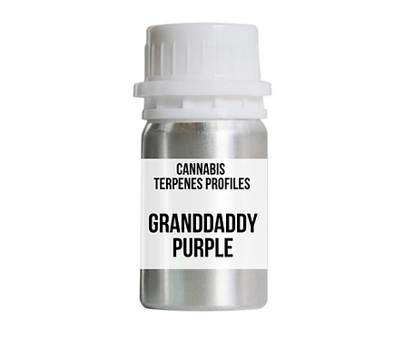 GRANDDADDY PURPLE terpene profile (ขั้นต่ำ 100 มิลลิลิตร)