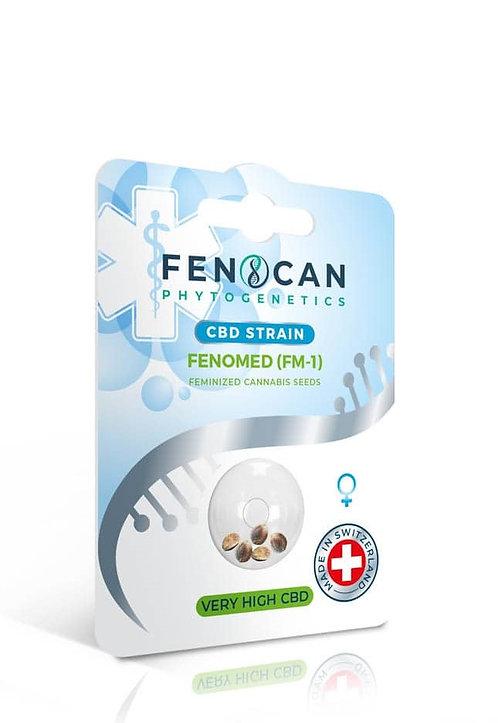 เมล็ดพันธุ์กัญชง FENOMED จากสวิสเซอร์แลนด์ (ซีบีดี 20-24% ทีเอชซี <0.9%)