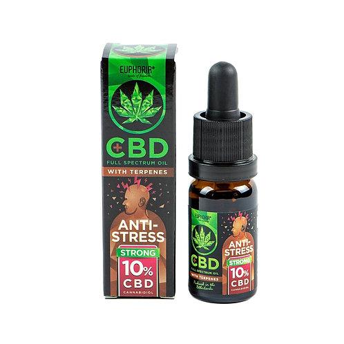 ANTISTRESS: Full spectrum CBD ผสมเทอร์พีน สูตรต่อต้านอาการเครียด CBD 10%