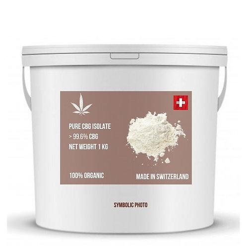 Pure CBG isolate มีความบริสุทธิ์ของสารซีบีดีมากกว่า 99.6% (ขั้นต่ำ 1 กิโลกรัม)