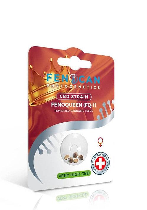 เมล็ดพันธุ์กัญชง FENOQUEEN จากสวิสเซอร์แลนด์ (ซีบีดี 14-16% ทีเอชซี <0.6%)