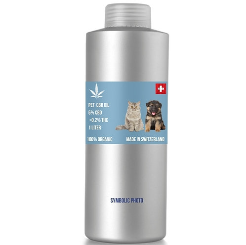 Full spectrum CBD oil for animals 5%CBD, 0.15%THC, MOQ: 2L