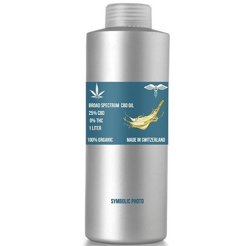 Broad spectrum CBD Oil with 30% CBD and 0% THC, MOQ: 1L