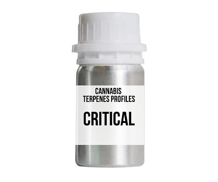 CRITICAL terpenes profile (เริ่มต้นที่ 30 มิลลิลิตร)