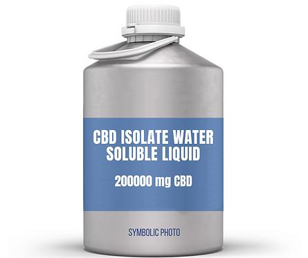 CBD isolate สูตรละลายในน้ำ สำหรับเครื่องดื่ม (200000 mg. CBD, 0 mg THC)