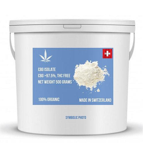 CBG Isolates >97.5% purity, MOQ 100 Grams