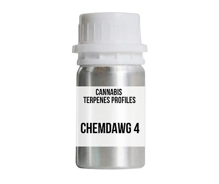 CHEMDAWG 4 terpenes profile (เริ่มต้นที่ 30 มิลลิลิตร)