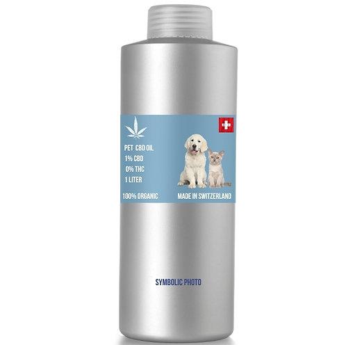 Pure CBD Oil รสไก่ 1% CBD 0%THC, (ขั้นต่ำ 1 ลิตร)
