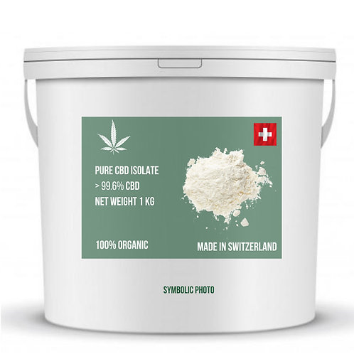 CBD isolate >99.6% purity