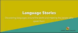 If you want to learn more about languages around the world, check this podcast out!