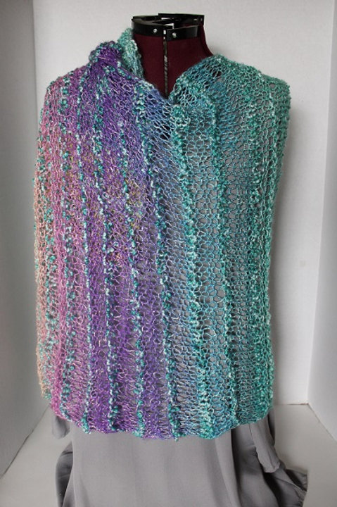 Knitted Pixie Wrap