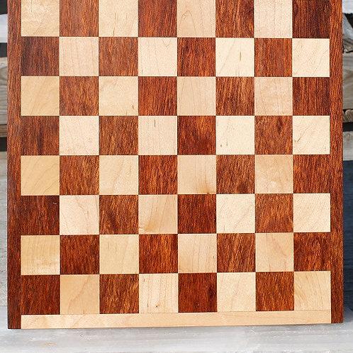 Jatoba and Maple Checker/Chess Board 1