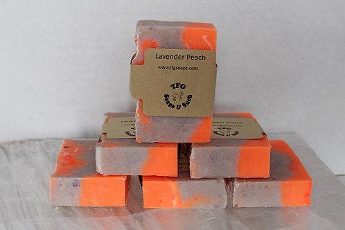 Lavender Peach Soap