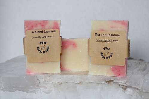 Tea and Jasmine Soap