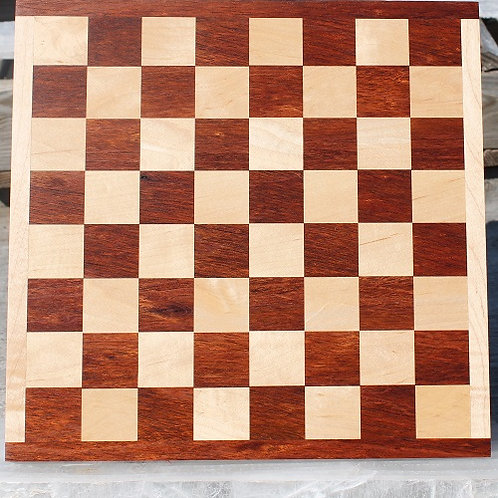 Jatoba and Maple Checker/Chess Board 2