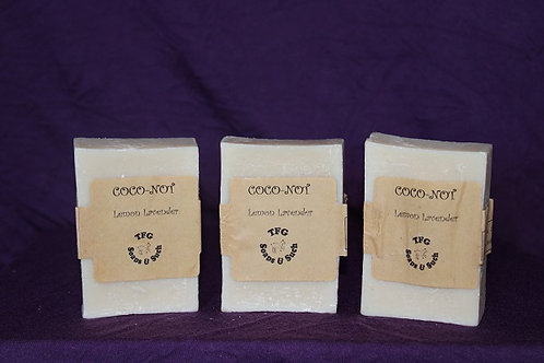 Lemon Lavender Coco-Not Soap
