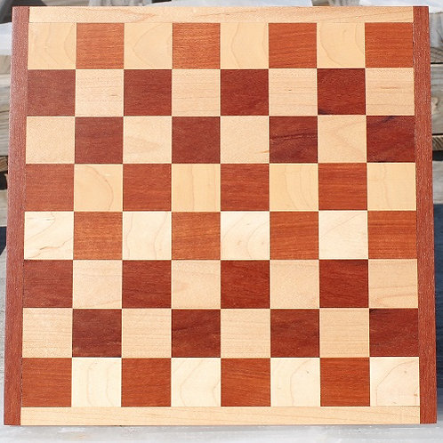 Massaranduba and Maple Checker/Chess Board