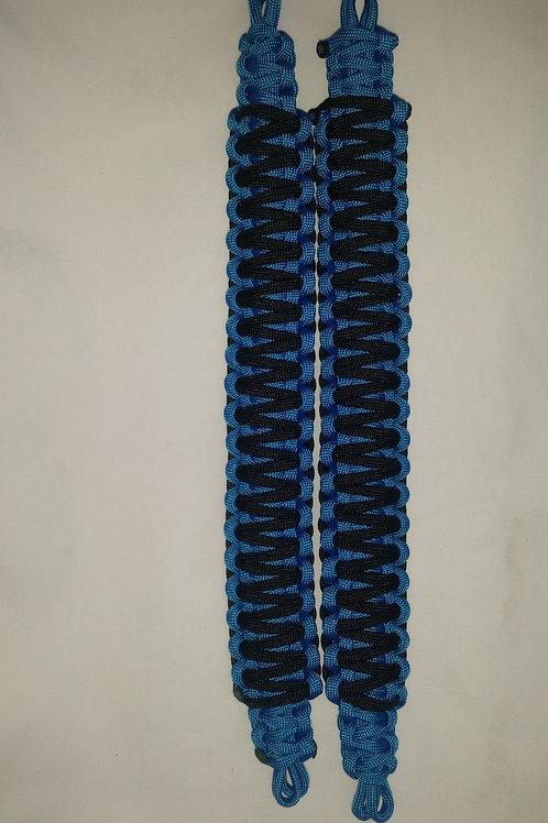 Headrest/Soundbar Handles (Bright Blue/Black)