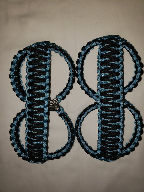 Roll Bar Handles (Lt Blue/Black)