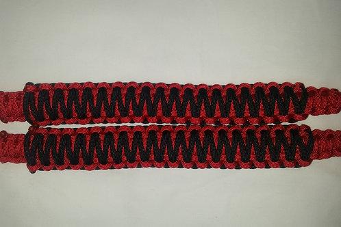 Headrest/Soundbar Handles (Red/Black)