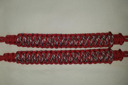 Headrest/Soundbar Handles (Red Camo/Red)