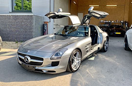 Mercedes-Benz SLS AMG GREY