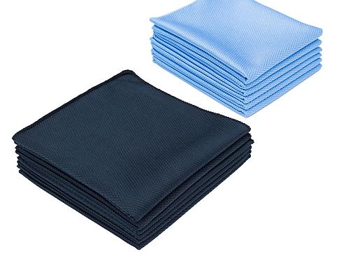 The Rag Company - The Diamond Microfiber Glass Towel