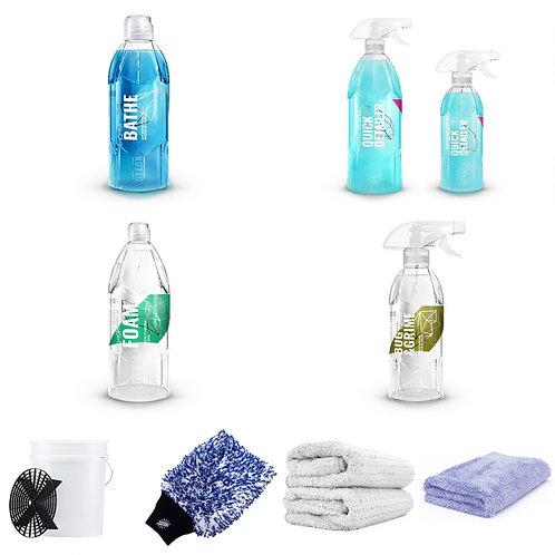 Kit de lavage complet Detailing - Deluxe
