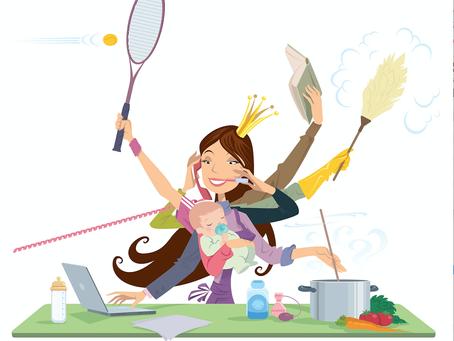 O conto da mulher multitarefa