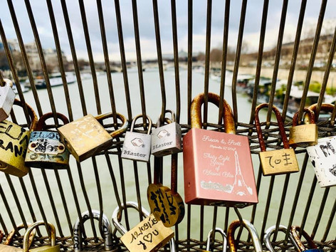 Love-Locked in Paris