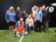 Walking football team