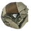 Thumbnail: Ühevärviline otsast triipudega  kašmiirsall