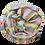 Thumbnail: Värviline triibuline kašmiirsall