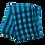 Thumbnail: Sinise ja musta ruuduline kašmiirsall