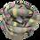 Thumbnail: Värviline roosakatriibuline kašmiirsall