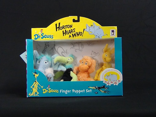 Horton Hears a Who Finger Puppet Set - (D)